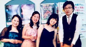 星の音楽会演奏会後のメンバー